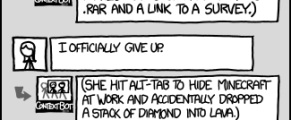 XKCD's ContextBot comic