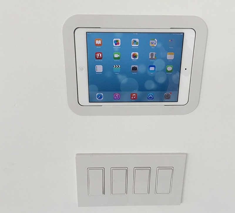 ipad wall mount