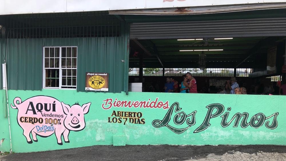 Lechonera Los Pinos, Cayey, Puerto Rico