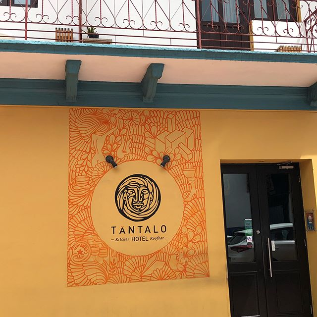 Tantalo restaurant and hotel with rooftop bar