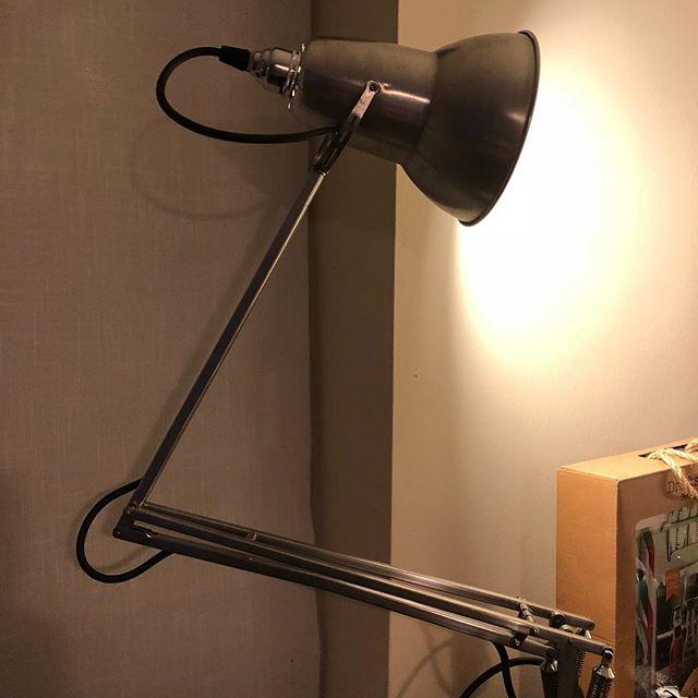 Vintage chrome anglepoise lamp