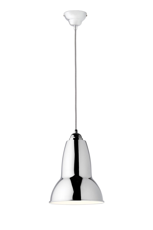 Anglepoise chrome pendant light